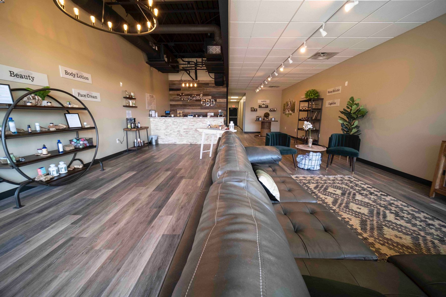 Capital American CBD store view